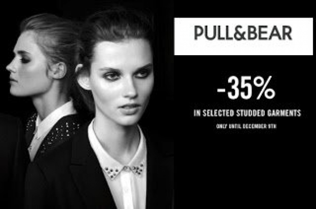 PULL & BEAR - Έκπτωση έως 35% στα Παπούτσια Pull and Bear