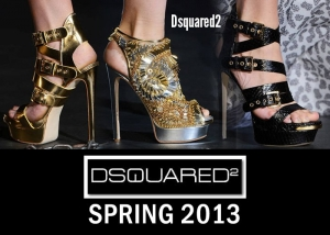 Dsquared2 - Τα παπούτσια της Άνοιξης 2013